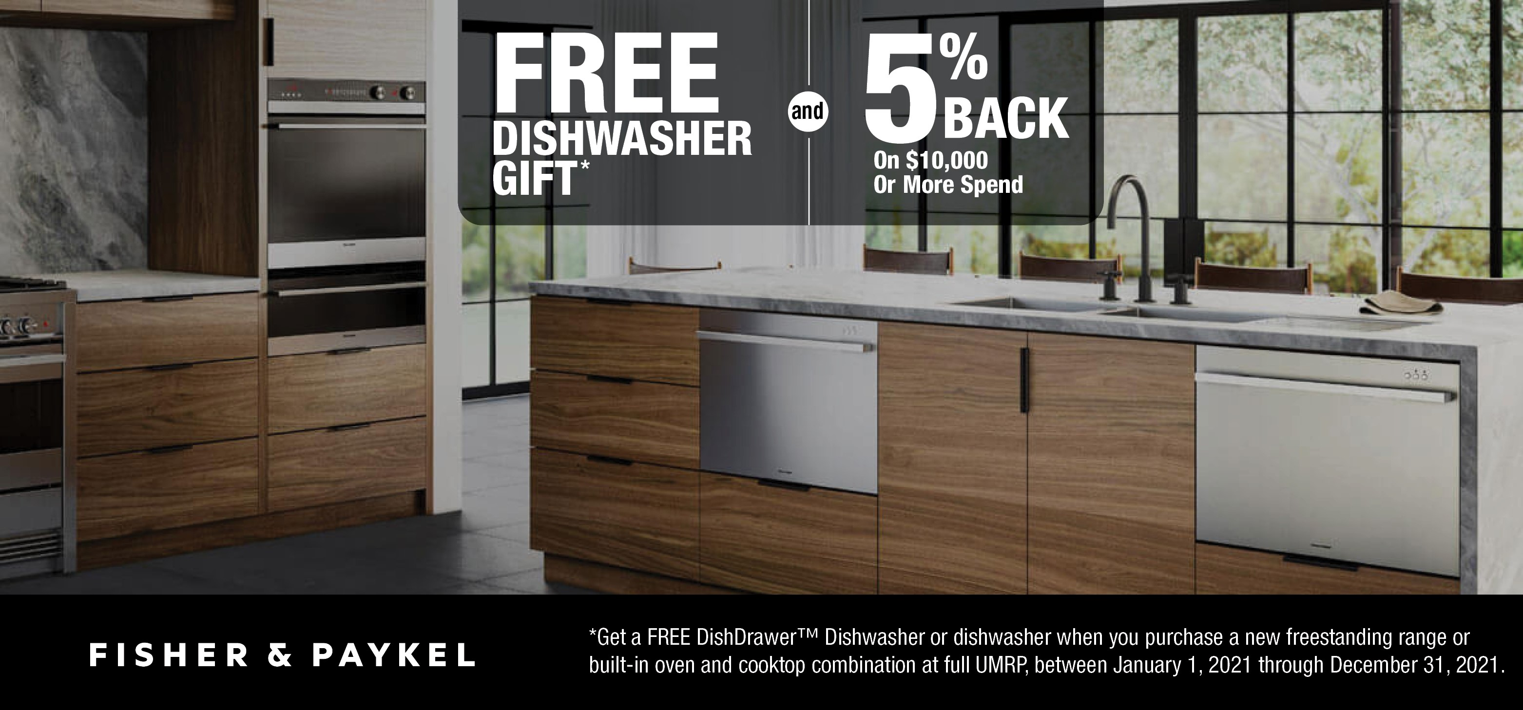 Fisher Paykel Promotion