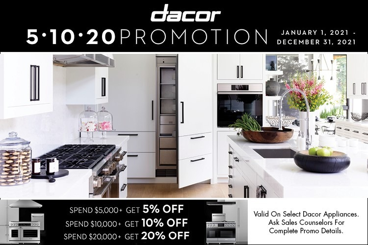 Dacor Promotion