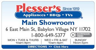 Plesser's Appliances Main Showroom'