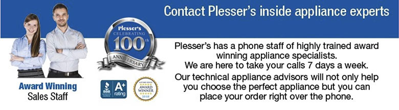 Plesser's inside appliance experts