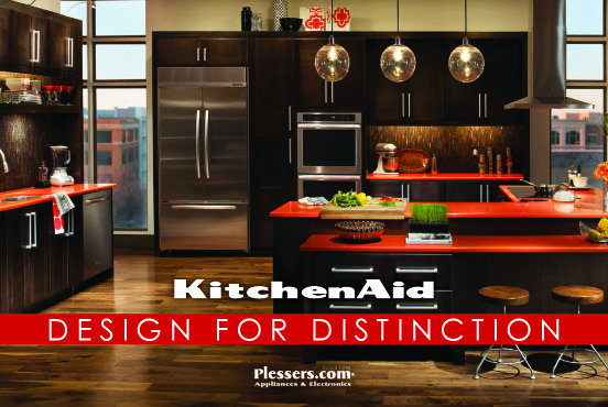 KitchenAid Design for Distinction - Plessers Appliances & Electronics