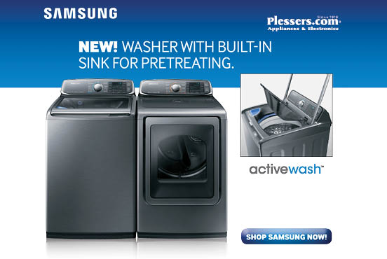 Samsung Active Wash - Plessers Appliances & Electronics