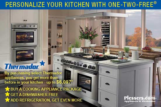 Thermador Save Up to $6097! - Plessers Appliances & Electronics