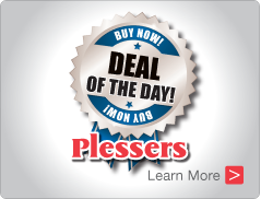 Deal of the Day - Plessers