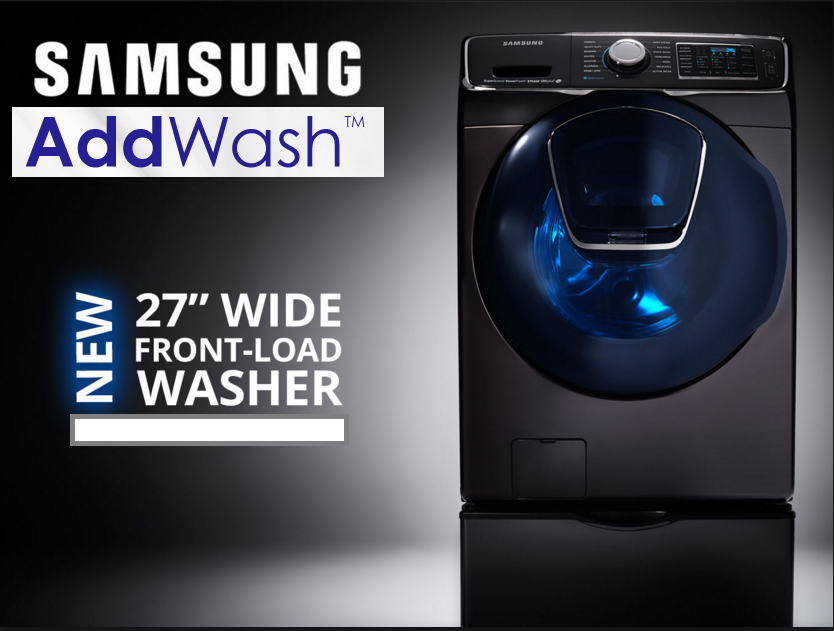 Samsung AddWash - Plessers Appliances & Electronics