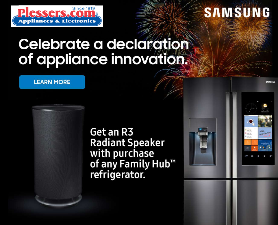 Samsung Innovation Family Hub - Plessers Appliances & Electronics