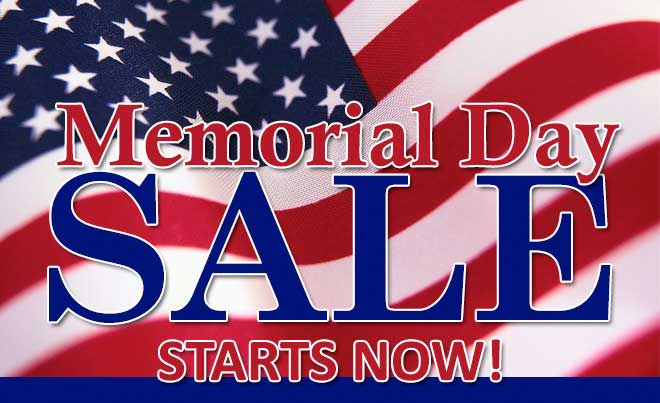 Memorial Day All Appliances on Sale - Plessers Appliances & Electronics