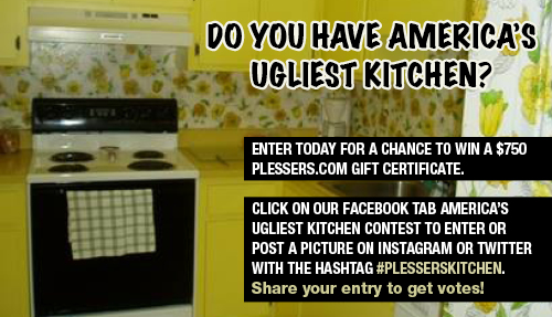 Ugly Kitchen    Contest you could win $750! - Plessers Appliances & Electronics