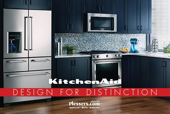 Kitchen Aid Authorized Dealer - Plessers Appliances & Electronics