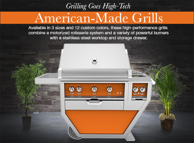 Hestan Grills American Made - Plessers Appliances & Electronics