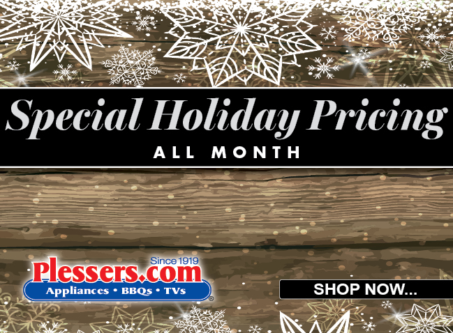 Save Big With Holiday Sales! - Plessers Appliances & Electronics