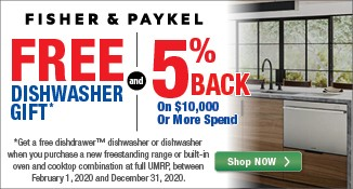 Fisher Paykel Cash Back