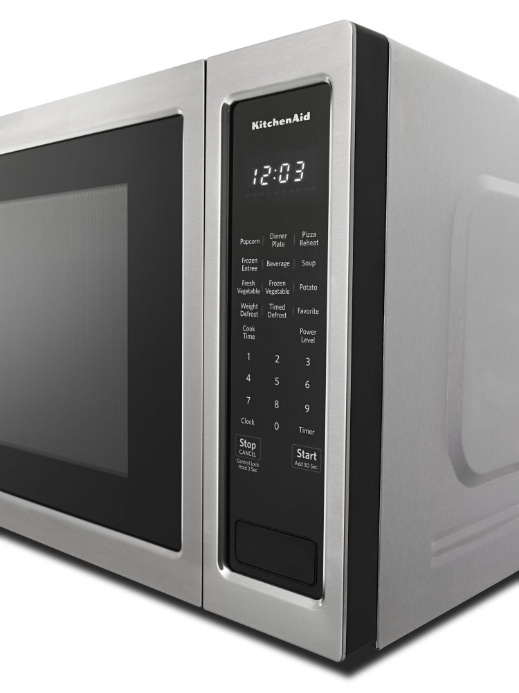 Kitchenaid Kmcs1016gbs Countertop Microwave Oven Black