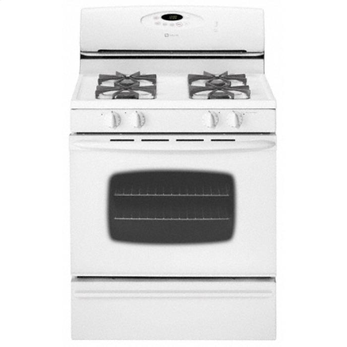 "Maytag MGR4452BDW 30"" Freestanding Gas Range With 4 Sealed"