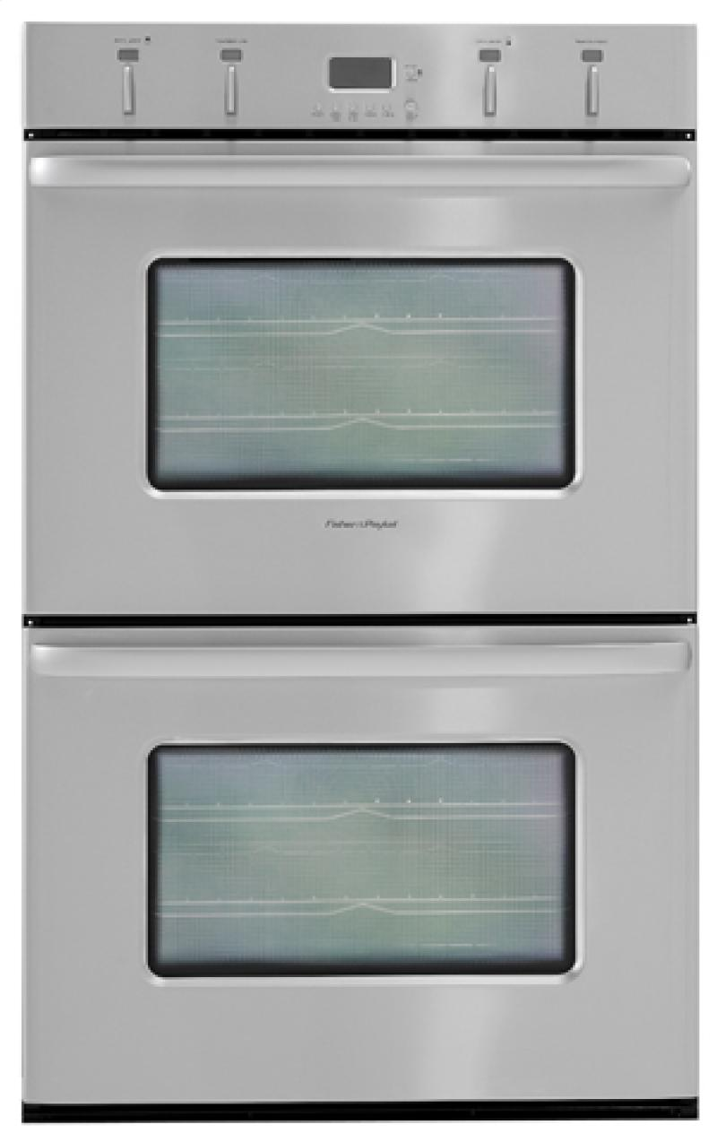 Od302ss Fisher Paykel Od302ss Double Wall Ovens