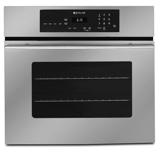 """Jenn-air JJW9327DDS 27"""" Single Electric Wall Oven With 3.3"""