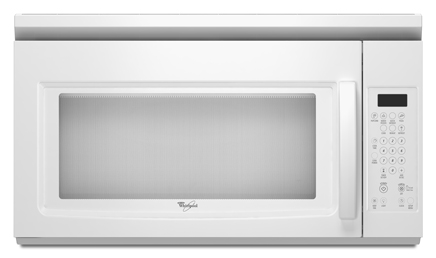 Whirlpool Wmh1162xvq 1 6 Cu Ft Over The Range Microwave