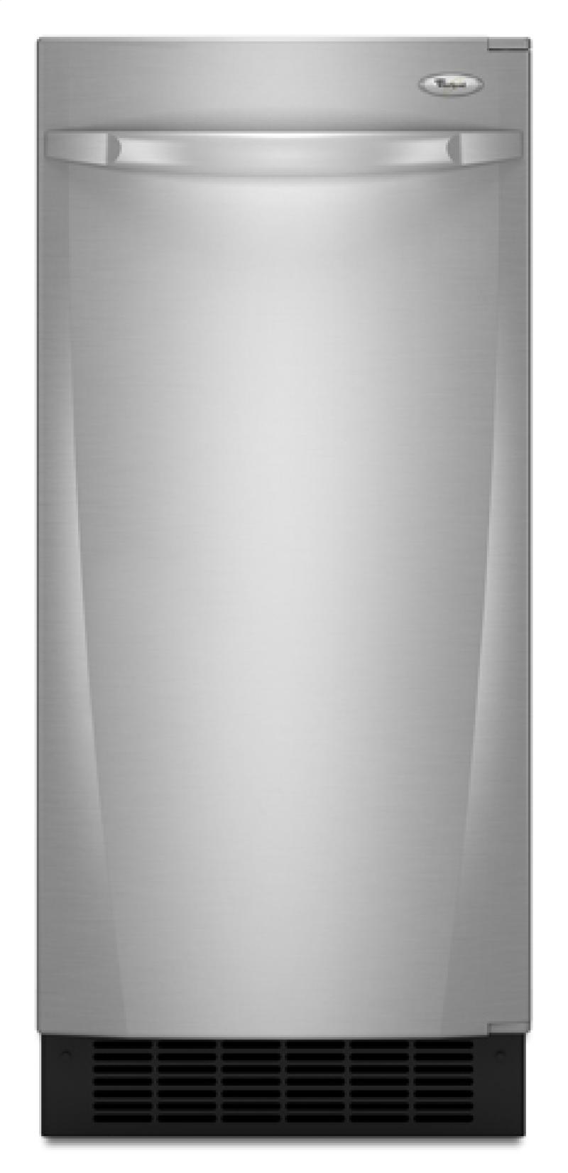 Whirlpool Gi15nfrts 15 Quot Built In Ice Maker With 25 Lbs