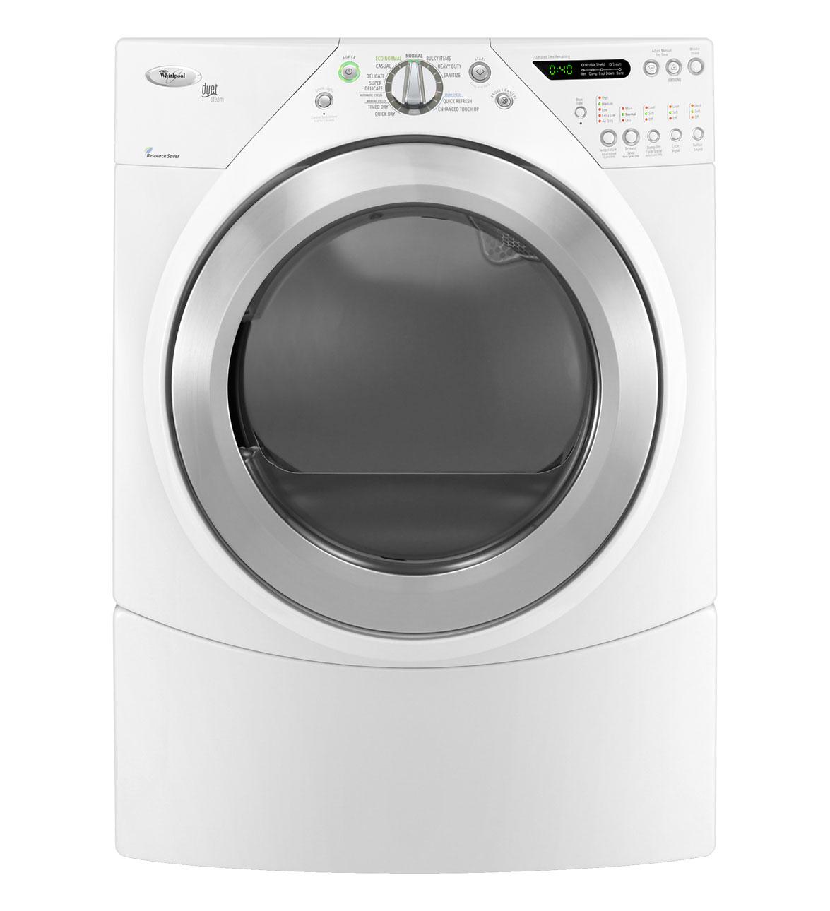 Wgd9550ww whirlpool wgd9550ww duet gas dryers white - Whirlpool duet washer and dryer ...