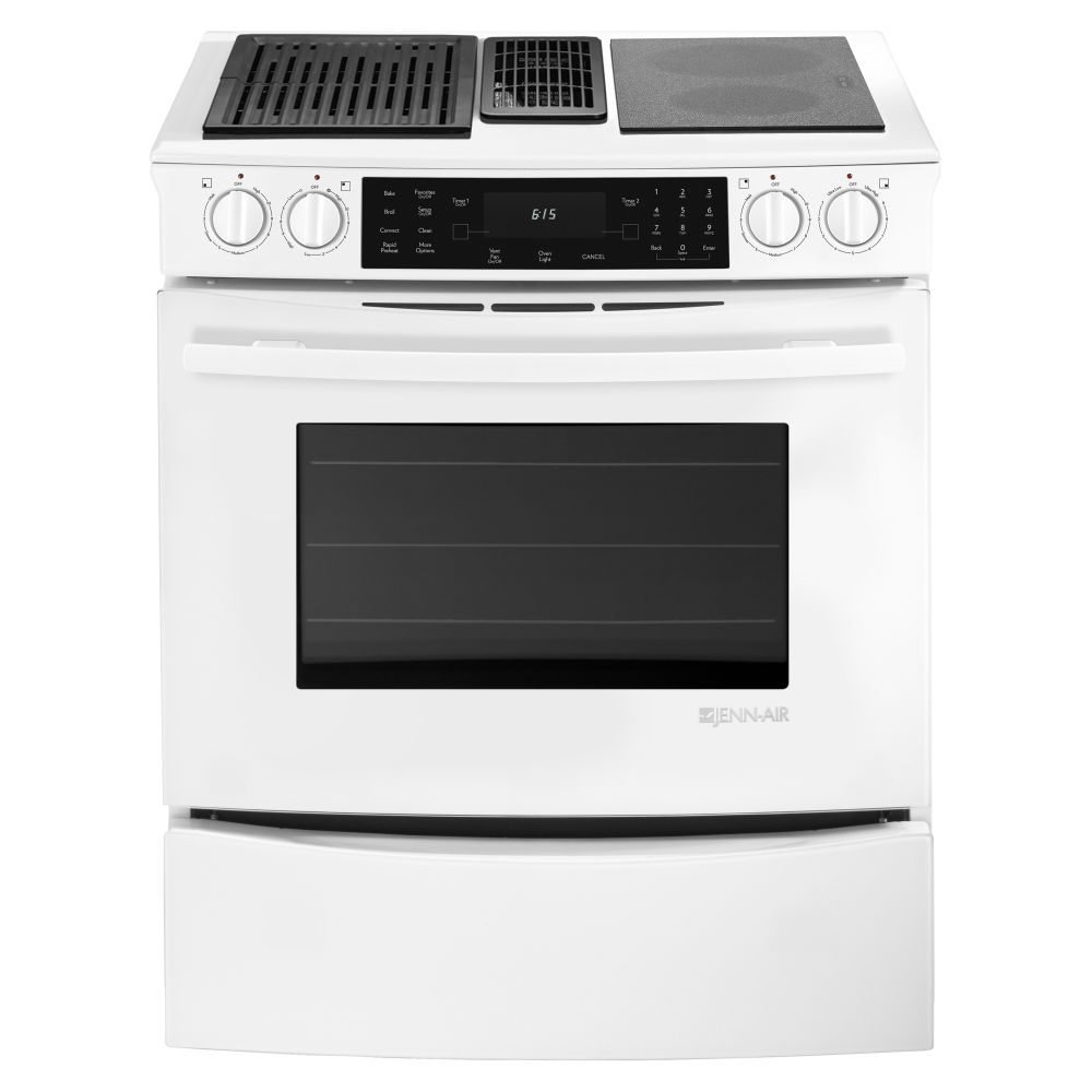 New Jenn Air 30 Quot Stainless Downdraft Electric Slide In