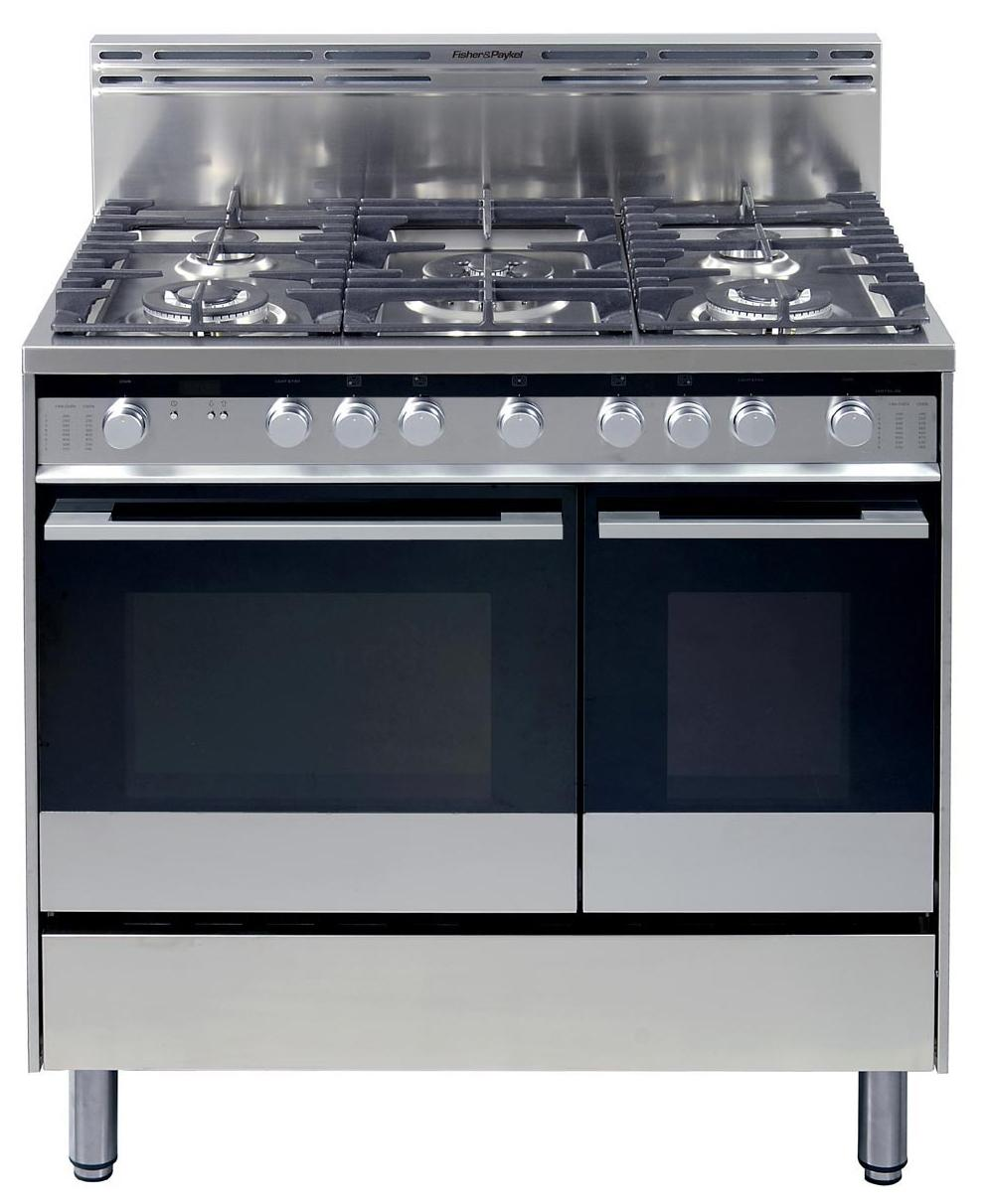 "Fisher Paykel OR36LDBGX1 36"" Pro-Style Gas Range With 5"