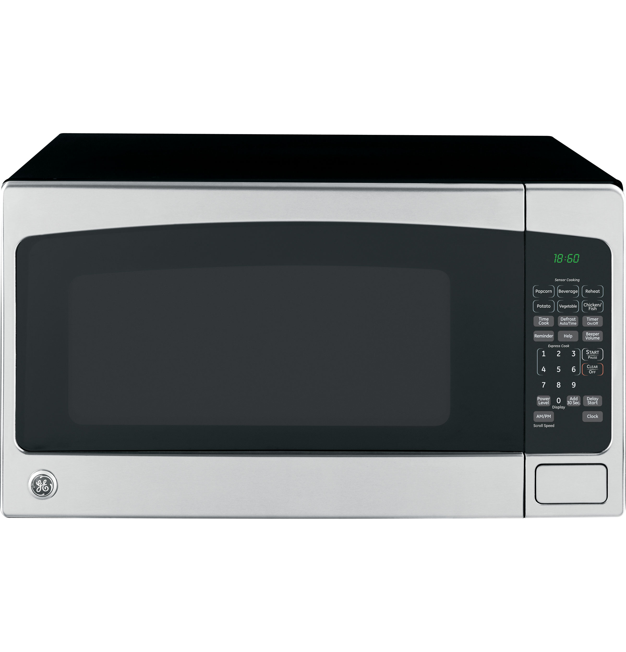 Hotpoint Countertop Microwave : Brand: GE, Model: JES2051SNSS, Color: Stainless Steel