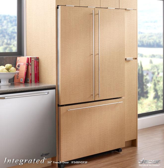 Kitchenaid 22 French Door Counter Depth Refrigerator ...
