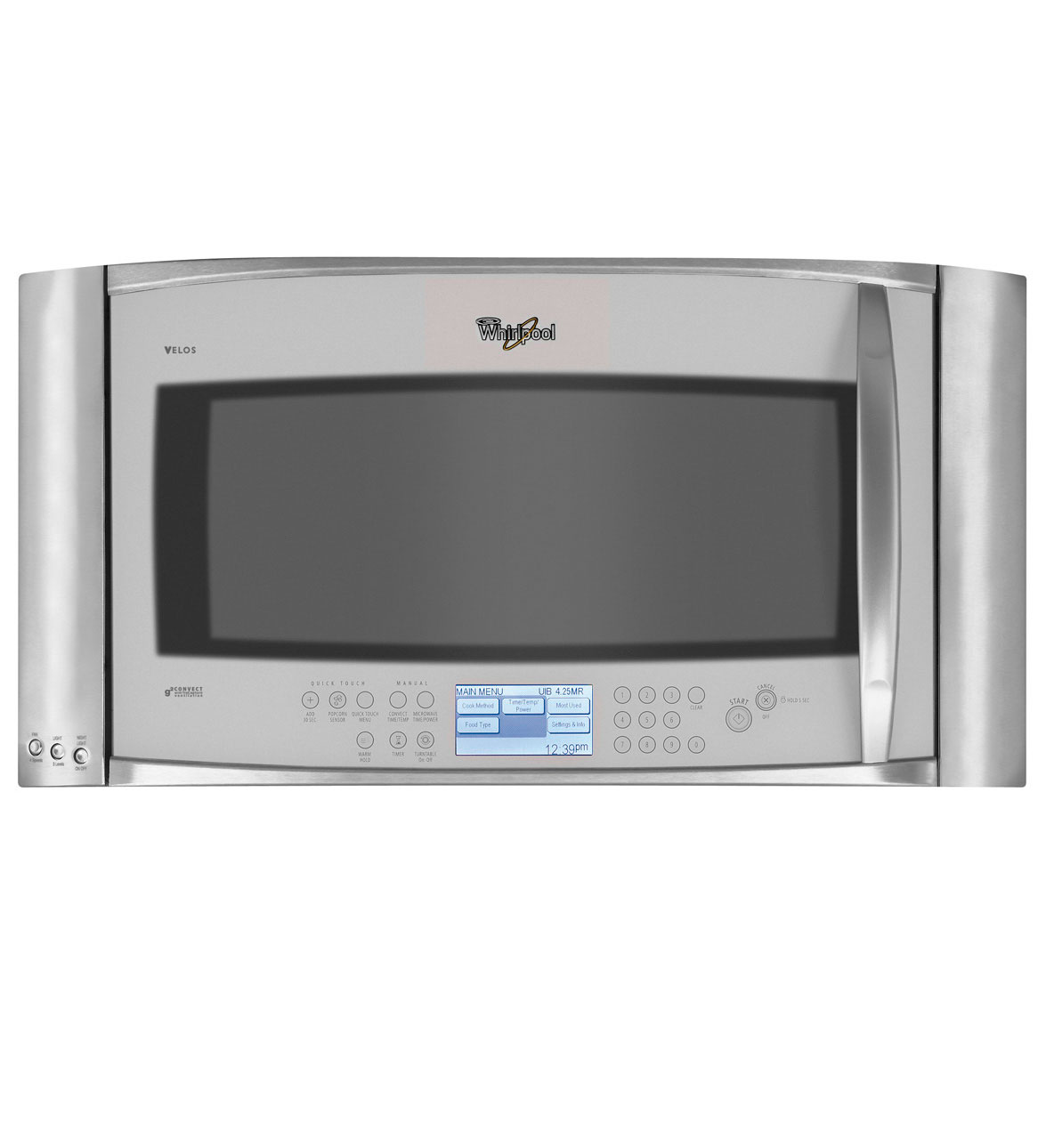 Whirlpool Gh7208xry 2 0 Cu Ft Velos Sdcook Over The