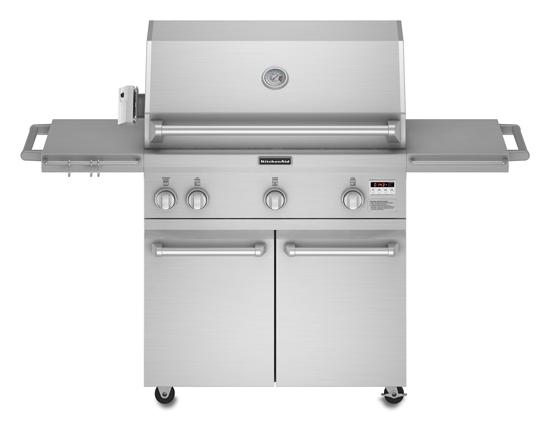 Kfru vss kitchenaid grills stainless steel