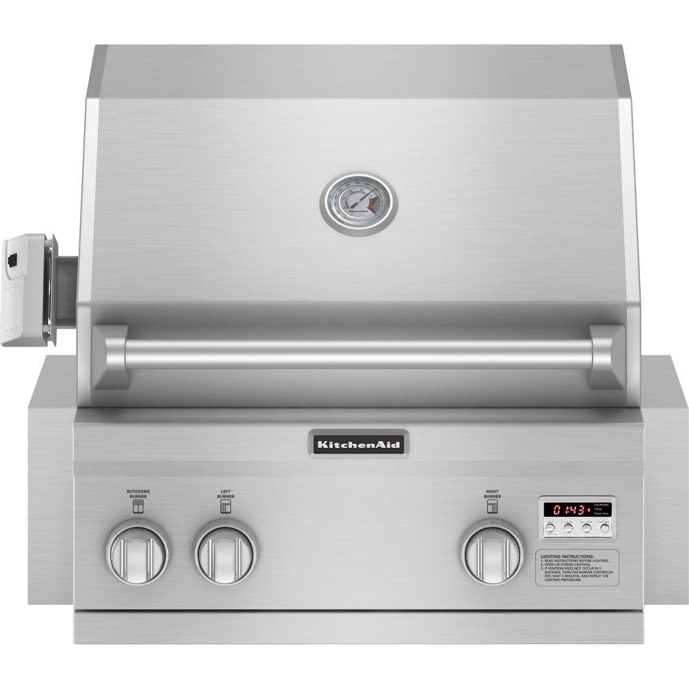 Kbnu vss kitchenaid grills stainless steel