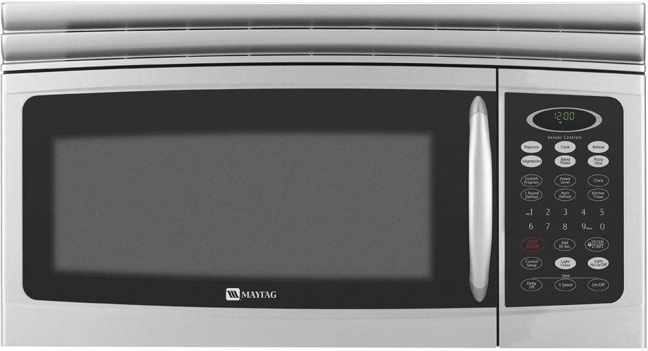 Maytag Mmv5165bas 1 6 Cu Ft Over The Range Microwave