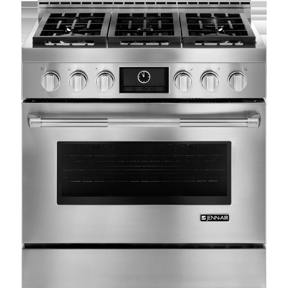 Jgrp436wp Jennair Jgrp436wp Gas Ranges Stainless Steel