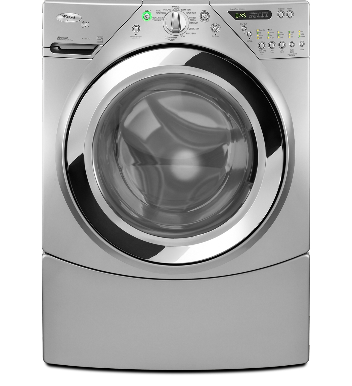 Wfw9470wl Whirlpool Wfw9470wl Duet Front Load Tumble