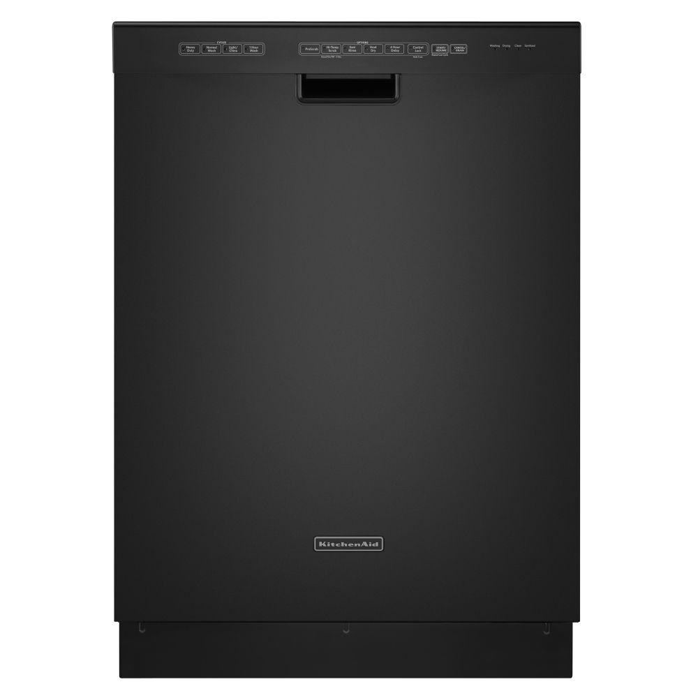 China Kitchen Kalamazoo: Kitchenaid KUDS30IXBL Full Console Dishwasher With 4 Wash