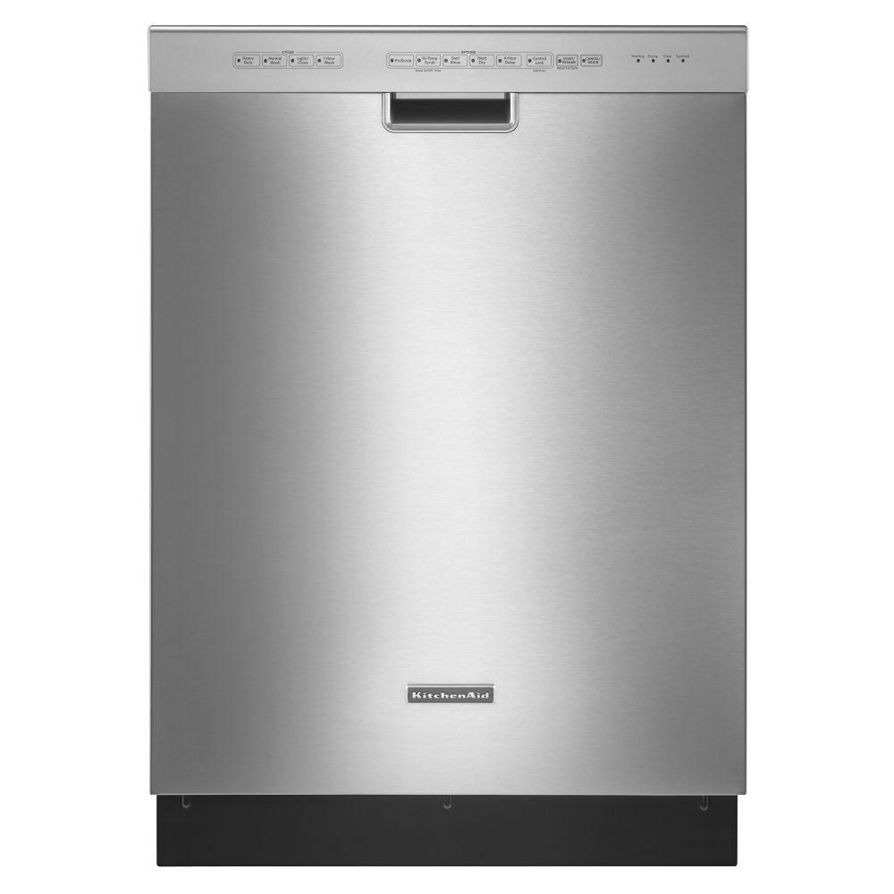 Kitchenaid Kuds30ixss Full Console Dishwasher With 4 Wash