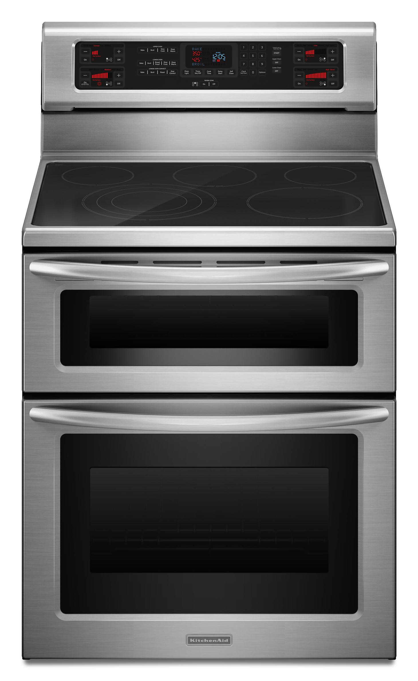 Kitchenaid Kers507xss 30 Quot Freestanding Electric Range With