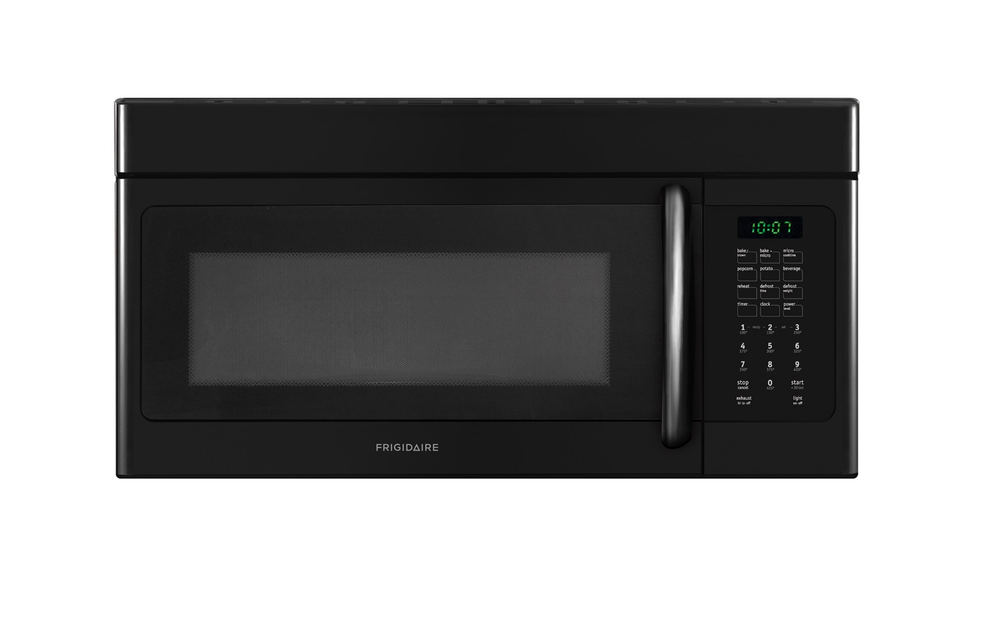 Frigidaire Ffmv152clb 1 5 Cu Ft Over The Range Microwave