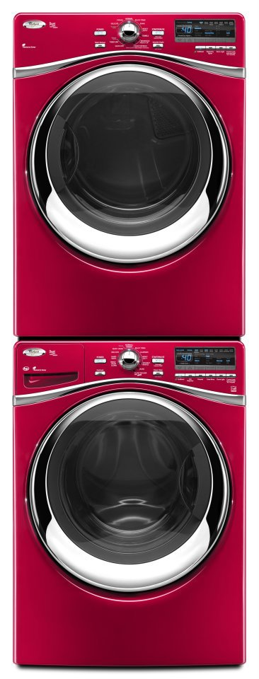 27 INCH STACKED WASHER DRYER ELECTRIC Blow Drying
