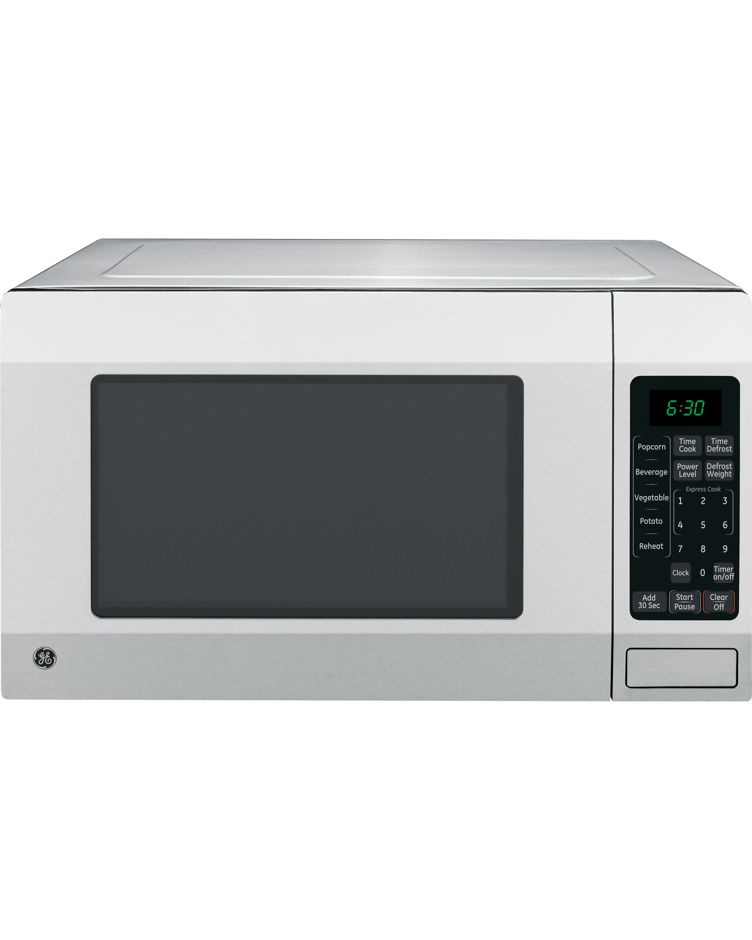 Hotpoint Countertop Microwave : Brand: GE, Model: JES1656SRSS, Color: Stainless Steel