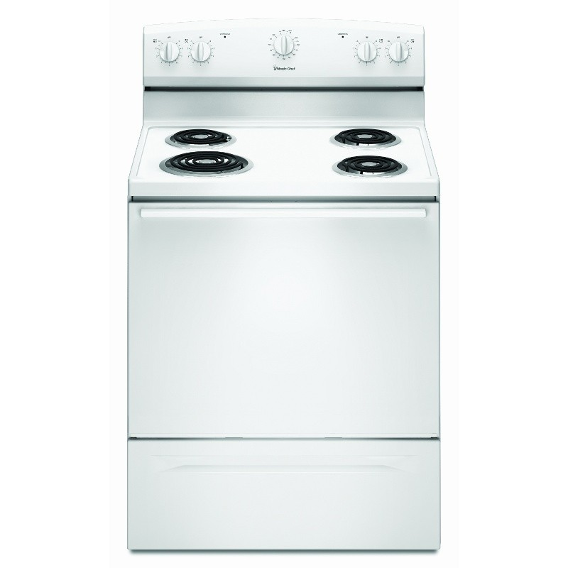 Magic Chef Electric Cooktop ~ Brand magic chef model cer xaw color white