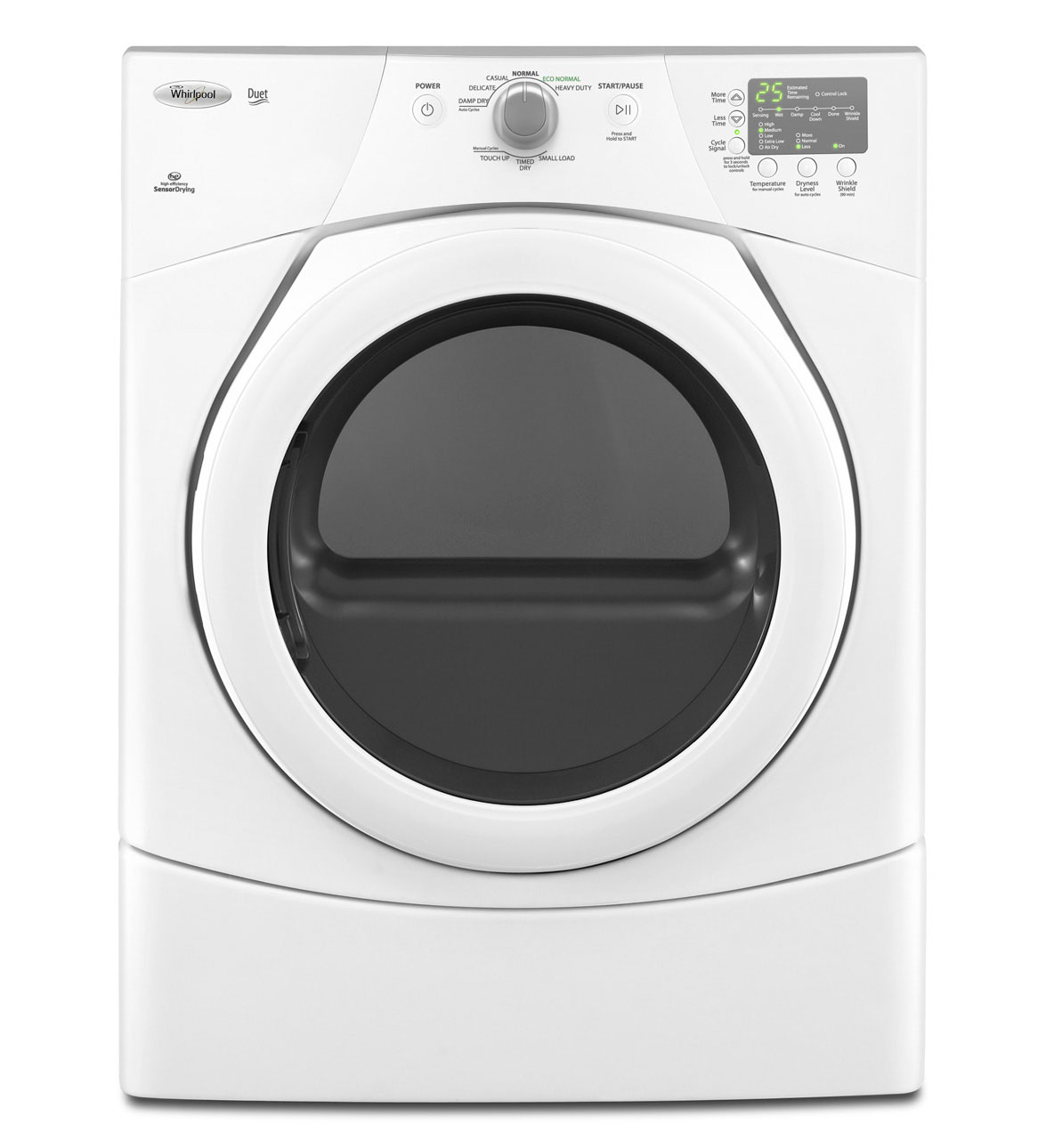 Wed9151yw whirlpool wed9151yw duet electric dryers white - Whirlpool duet washer and dryer ...