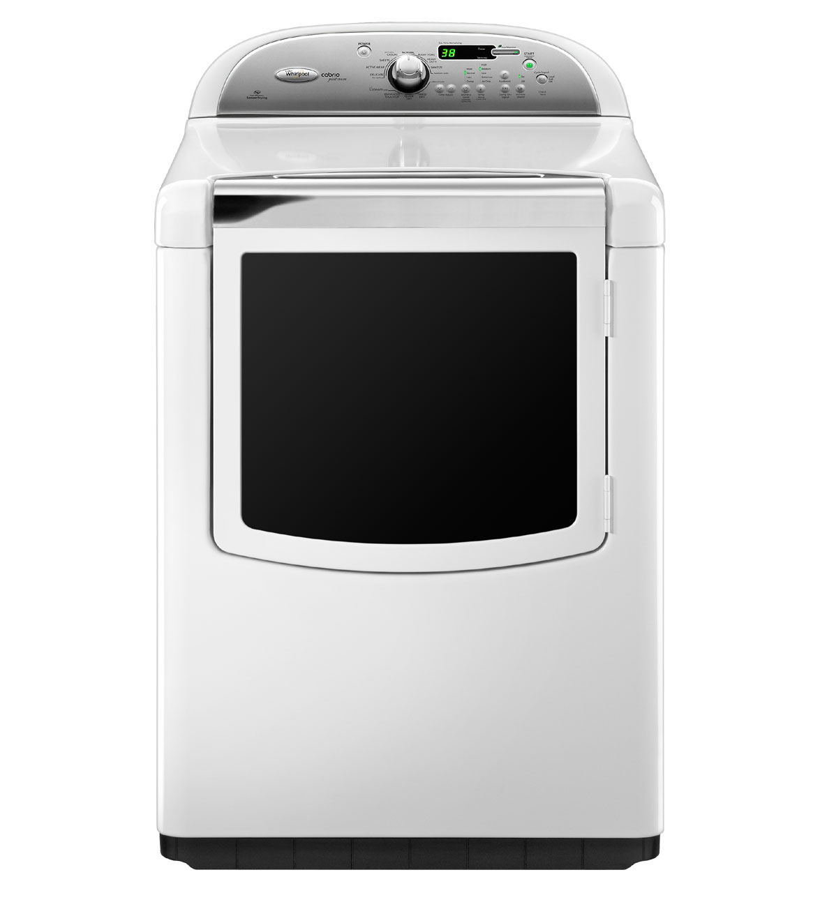Whirlpool Wed8600yw 29 U0026quot  Electric Steam Dryer With 7 6 Cu  Ft  Capacity  11 Drying Cycles