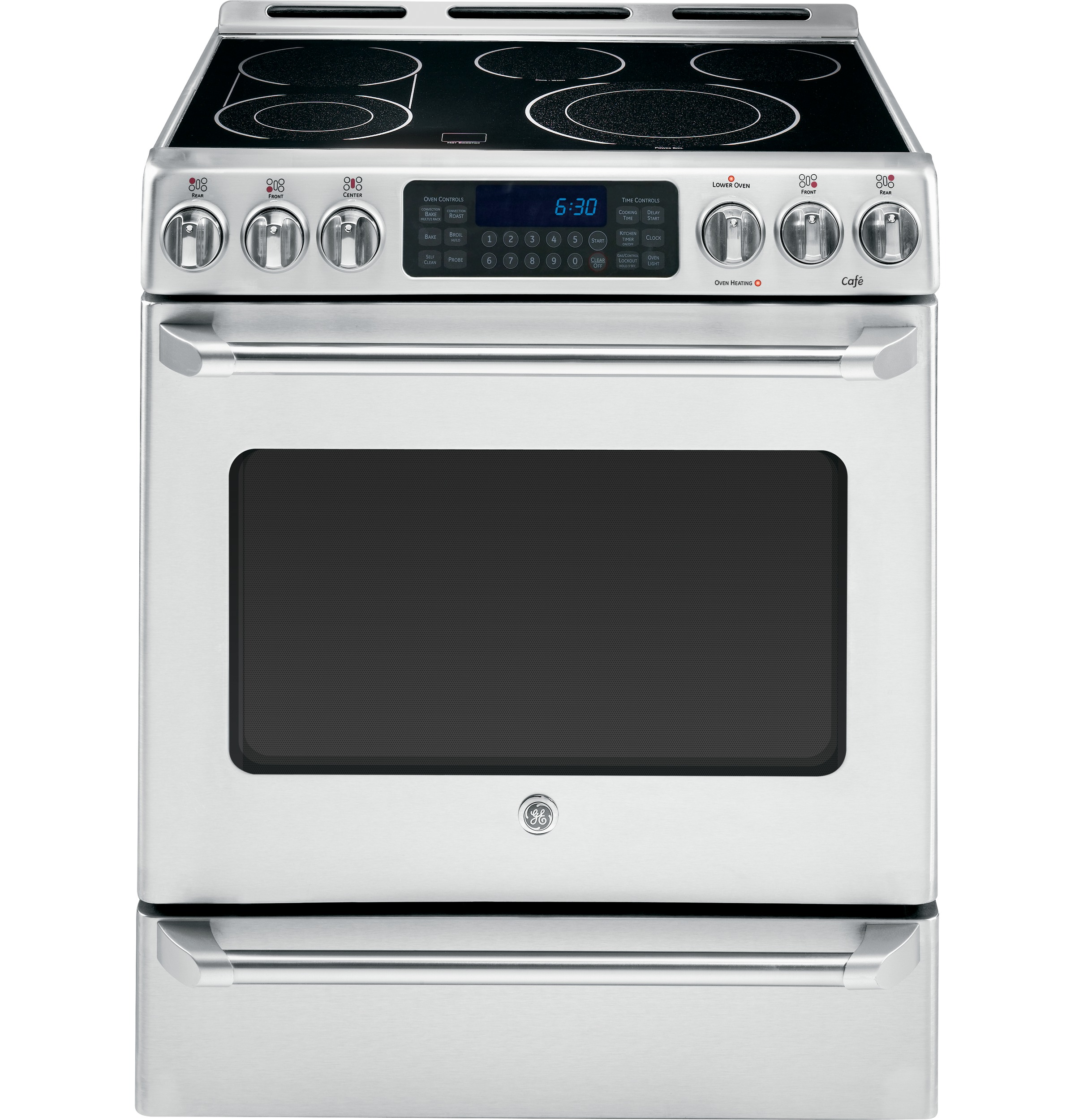 General Electric Cs980stss 30 Inch Slide In Electric Range
