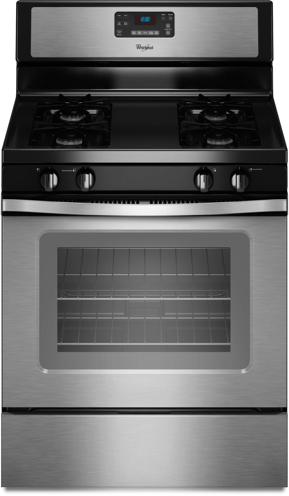 Whirlpool Wfg510s0as 30 Quot Freestanding Gas Range With 4