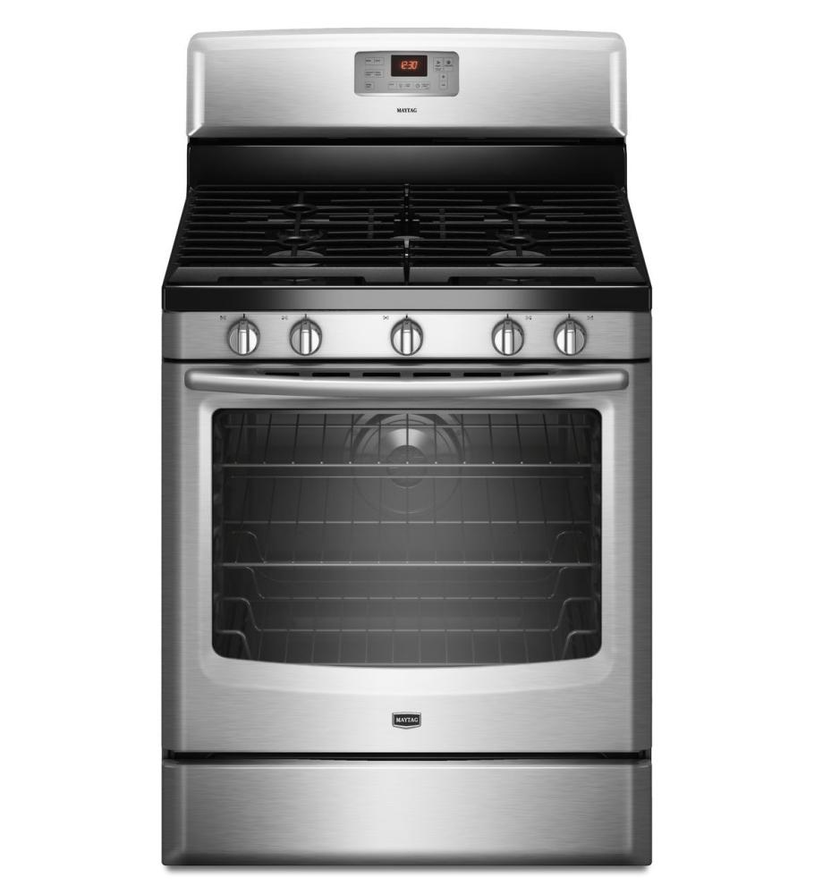 "Maytag MGR8775AS 30"" Freestanding Gas Range With 5 Sealed"