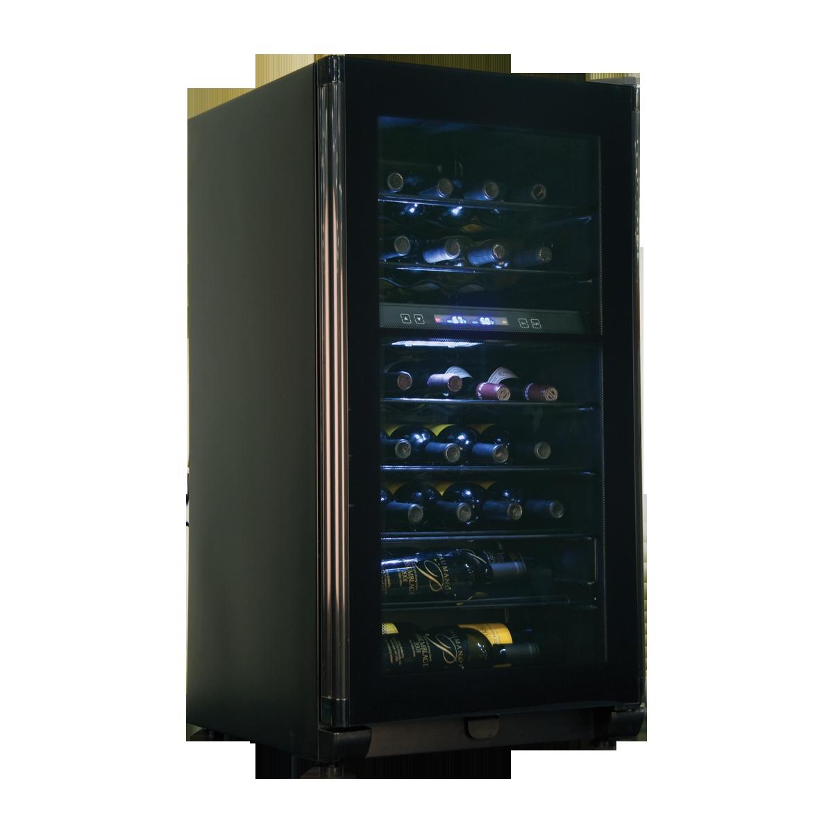 brand haier model hvfe040bbb style 40 bottle wine cooler. Black Bedroom Furniture Sets. Home Design Ideas