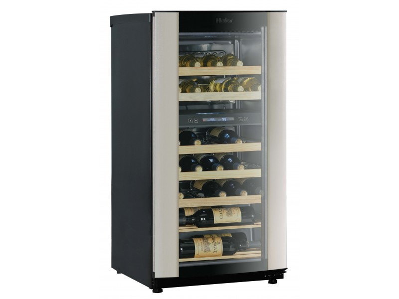 Haier Hvz040abh5s 40 Bottle Dual Zone Wine Cooler 40