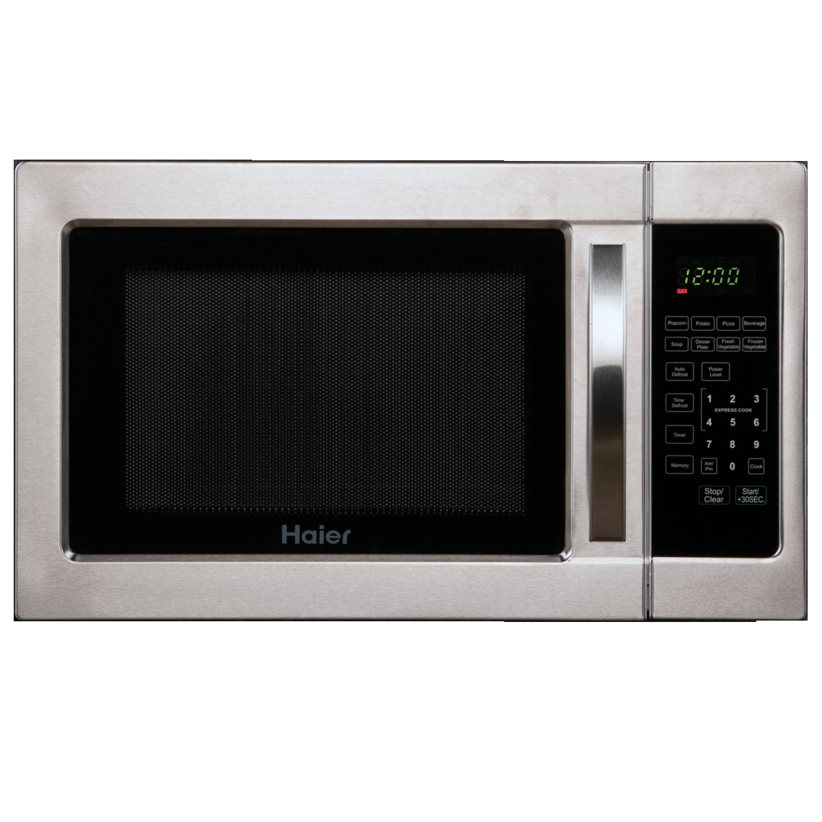 Haier Countertop Microwave : Brand: HAIER, Model: HMC1035SESS, Color: Stainless Steel