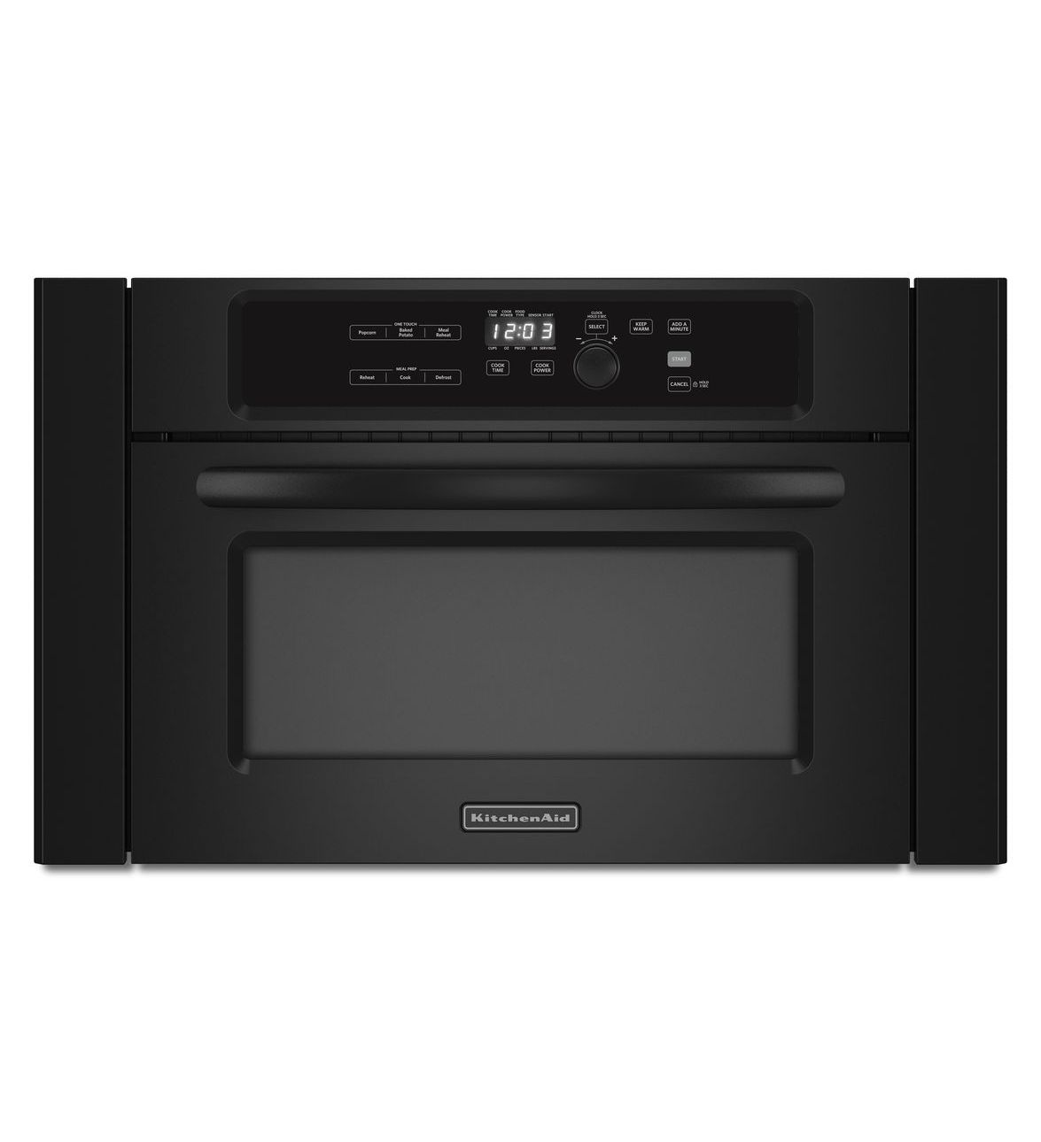 Kitchenaid Kbms1454bbl 24 Quot Built In Microwave Oven With