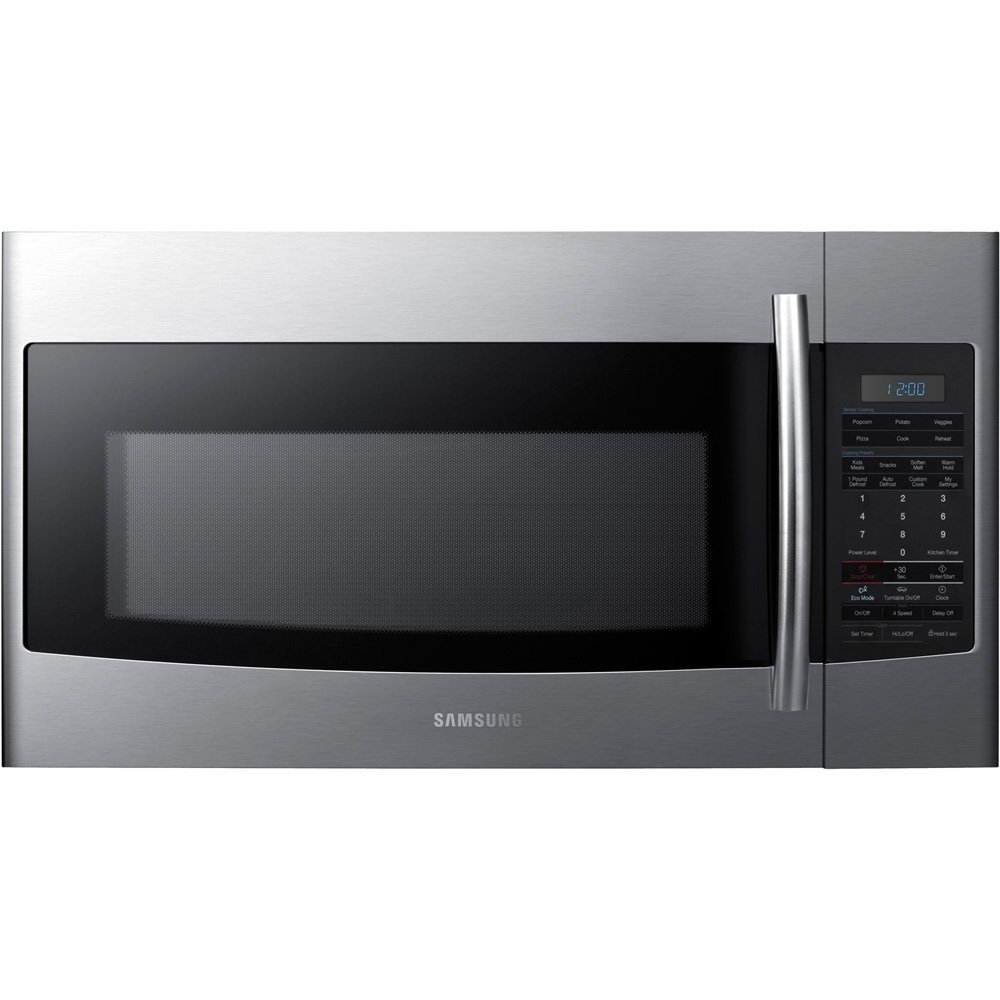 Samsung Smh1926s 1 9 Cu Ft Over The Range Microwave Oven